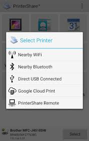 how to print on android mobile print printershare apk for android
