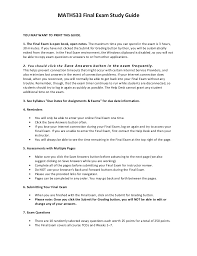 Resume Security Clearance Example by Math533 Final Exam Study Guide