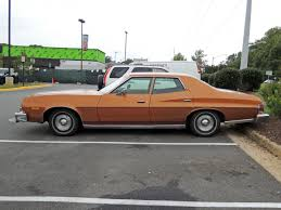 4 Door Muscle Cars - curbside classic 1975 ford gran torino u2013 symbol of the seventies