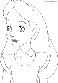 alice wonderland free coloring pages art coloring pages