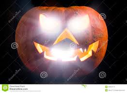 spooky haloween pictures spooky halloween pumpkin shiny stock photo image 46404714