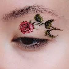 eyeliner tattoo violent eyes eye and lip tattoos trending on instagram fashionisers