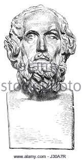 homer greek greece odyssey iliad poet stock photo royalty free