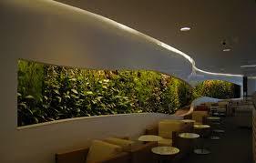 home garden interior design office waiting room vertical garden feature wall interior design