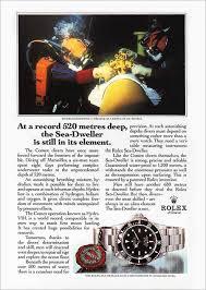 rolex ads comex adverts