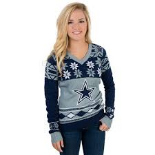 cowboys sweater dallas cowboys womens sweater sleeve tops womens
