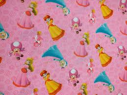 mario wrapping paper mario princess rosalina toadette