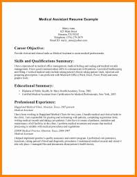 Example Of Resume For Medical Assistant 8 Medical Assistant Dermatology Resume New Hope Stream Wood