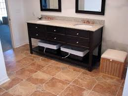 4 Ft Bathroom Vanity by Full Scale Bathroom Remodel In Cleveland Heights Oh The Beard Group