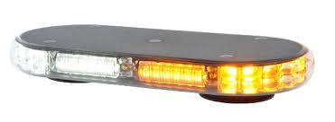 amber mini light bar strobes n more millennium mini led lightbar strobesnmore com