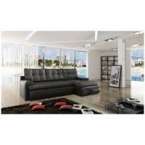 canapé d angle commandeur marque generique canapé d angle commandeur assise blanche et