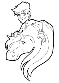 106 horseland images colouring pages cartoon