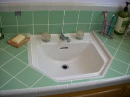 bathroom countertop tile ideas tile countertops for midcentury bathrooms retro renovation
