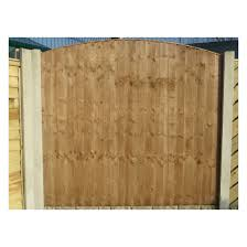 heavy duty round top vertical weatherboard fence panel nwtt