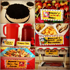 mickey mouse party ideas food ideas for mickey mouse clubhouse birthday party food