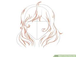 spiky anime hairstyles 6 ways to draw anime hair wikihow