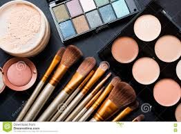 professional makeup brushes stock photography image 28393232