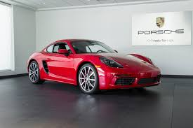 new porsche 2018 2018 porsche cayman 718 s for sale in colorado springs co 18029