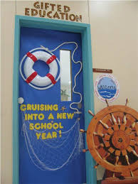 New Year Board Decoration Idea by Nautical Classroom Decorations Cruise Into A New Year