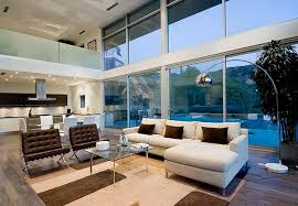 Minimalist Modern House Design By Steve Kent Interior Design - Minimal living room design