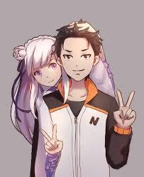 subaru anime character subaru x emilia wiki anime amino