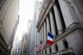Fly Flag At Half Mast Moments Of Silence At Stock Exchange 9 11 Memorial For Paris
