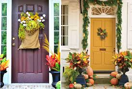 Outdoor Fall Decor Ideas - best inexpensive front porch fall decorating ideas with outside