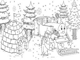 christmas train coloring pages learntoride