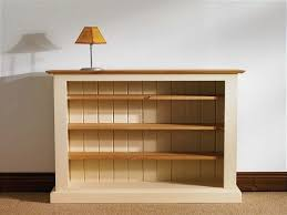 unfinished pine bookshelves bookcase ideas