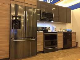 Samsung Cabinet Depth Refrigerator Samsung Kitchen Appliances With Samsung Counter Depth Refrigerator