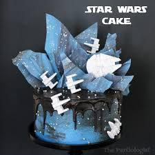 starwars cakes the partiologist wars cake