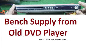 recycle dvd player for power supply 12v and 5v youtube