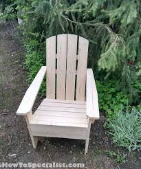 Build An Adirondack Chair How To Build Adirondack Chairs Howtospecialist How To Build