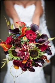 fall bridal bouquets amazing autumn wedding bouquets