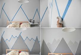 wandgestaltung farbe beispiele stilvoll wandgestaltung mit farbe ideen handgemalte motive