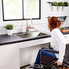 ikea kitchen base cabinets for sink sektion base cabinet frame adapted for wheelchairs white