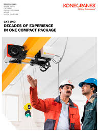 cxt uno konecranes pdf catalogue technical documentation