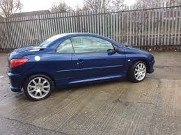 car peugeot 206 peugeot 206 cc towcars u0026 aframes for sale