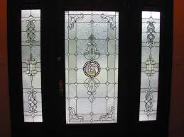 Glass For Front Door Panel by Opulent Front Door Design With Four Panel And Glass Sidelite