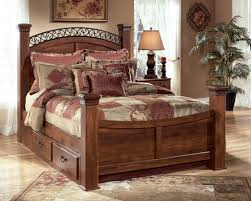 ashley storage bed signature design by ashley timberline queen poster bed with