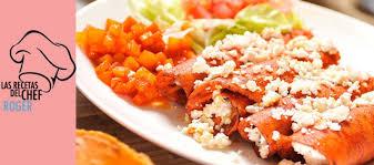 imagenes enchiladas rojas recetas del chef roger enchiladas rojas tierra regia
