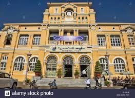 colonial architecture colonial architecture at the post office building phnom