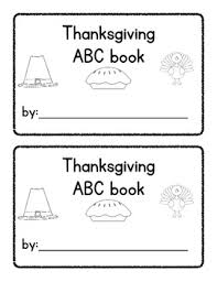 thanksgiving differentiated abc matching book common tpt