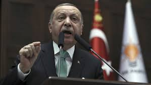 Ottoman Officials Recep Tayyip Erdogan Threatens Us Forces With Ottoman Slap