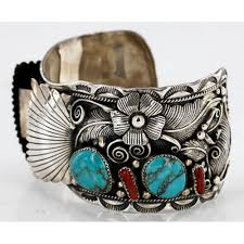 bracelet silver turquoise images Collectable handmade 2770 retail tag authentic navajo 925 jpg