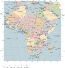 Picture Of Africa Map by Africa Political Map Full Size