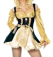 amazon prime halloween costumes amazon com gold vixen pirate costume clothing