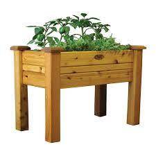 Discount Outdoor Planters by Have To Have It Gronomics Cedar Elevated Planter Box 219 99