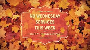 no wednesday services thanksgiving carbondale assembly of god