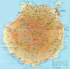 Canary Islands Map Gran Canaria Mapa Bandeiras E Mapas Pinterest Canary Islands